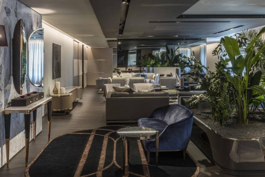 Showroom Longhi Milano: il punto di riferimento per l'arredamento di lusso
